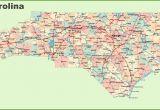 Map Of north Carolina Cities and towns Road Map Of north Carolina with Cities