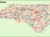 Map Of north Carolina Coast towns Road Map Of north Carolina with Cities