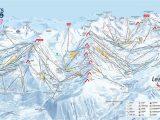 Map Of north Carolina Ski Resorts Three Valleys Piste Map