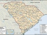Map Of north Carolina with Counties State and County Maps Of south Carolina