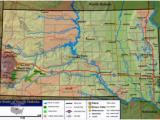 Map Of north Dakota south Dakota and Minnesota Geography Of south Dakota Wikipedia