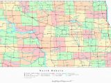 Map Of north Dakota south Dakota and Minnesota north Dakota Printable Map 865 11 south Of Cities Sitedesignco Net