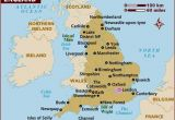 Map Of north England and Scotland Map Of England