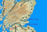 Map Of north England and Scotland Peoples Of northern Britain According to Ptolemy S Map Mind