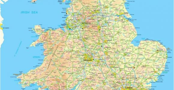 Map Of north England Uk Map Of England and Wales England England Map Map England