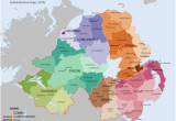 Map Of north Ireland List Of Rural and Urban Districts In northern Ireland Revolvy