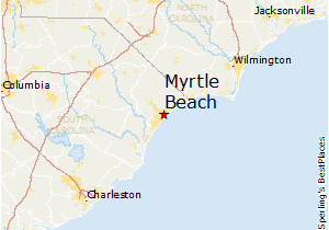 Map Of north Myrtle Beach south Carolina Map Of north Myrtle Beach Maps Directions