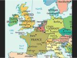 Map Of north Western Europe Physical Geography Of northwestern Europe northern European
