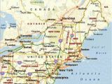 Map Of northeastern Us and Canada Map Of northeastern United States Pergoladach Co