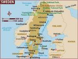 Map Of northern Europe and Scandinavia Map Of Sweden