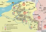 Map Of northern France Ww1 the Western Front south African History Online