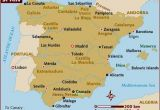 Map Of northern Spain and southern France Map Of Spain