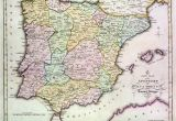 Map Of northern Spain and southern France Map Of Spain Stock Photos Map Of Spain Stock Images Alamy