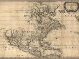 Map Of northern United States and Canada 1650 Map United States Canada Mexico Antique north America 20