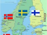 Map Of norway In Europe Any Scandinavians Here What S Like there My Dream is to