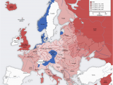 Map Of Occupied Europe 1943 Second World War In Europe 1943 1945 Mapmania World War