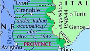 Map Of Occupied France Italian Occupation Of France Wikipedia