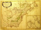 Map Of Ohio and Pa 1775 to 1779 Pennsylvania Maps