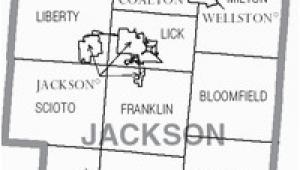 Map Of Ohio Countys Jackson County Ohio Wikipedia