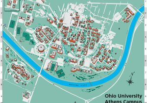Miami Oxford Campus Map.Map Of Ohio Universities Oxford Campus Maps Miami University