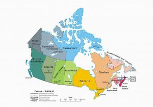 Map Of Ontario Canada Cities Canadian Provinces and the Confederation