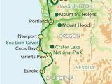 Map Of oregon Beaches Map or oregon Coast Secretmuseum