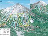 Map Of oregon Mountains Mt Bachelor Mt Bachelor oregon Skiing Ski Magazine Trail Maps
