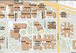 Map Of oregon State University Maps University Of oregon