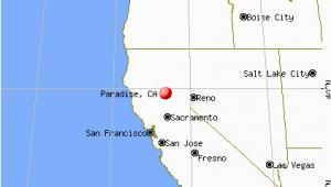 Map Of Paradise California town Of Paradise Ca Map Paradise California Ca 95967 95969