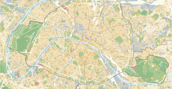 Map Of Paris France Arrondissements Maps Of Paris Wikimedia Commons