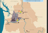 Map Of Pendleton oregon Pin by Trisha Pritikin On Maps Pacific northwest Map Map Pacific