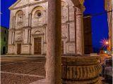 Map Of Pienza Italy Pienza Square Pienza Province Of Siena Tuscany Italy toscana