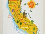 Map Of Pleasanton California California Illustrated Map 8×10 20 00 Via Etsy Hellonicoco