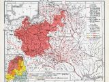 Map Of Poland In Europe A 1921 Map Of Polish Majority areas In Europe after the End