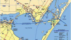 Map Of Port Aransas Texas Maps A Port Of Corpus Christi