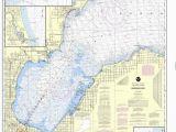 Map Of Port Austin Michigan Noaa Nautical Chart 14863 Saginaw Bay Port Austin Harbor Caseville
