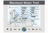 Map Of Port Clinton Ohio Lake Erie islands Water Trail Mainland Trail Catawba Marblehead