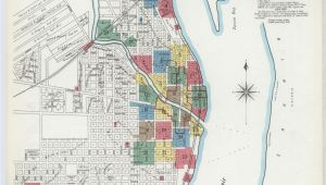 Map Of Port Huron Michigan Sanborn Fire Insurance Map From Port Huron Saint Clair County