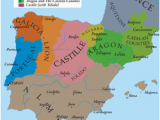Map Of Portugal Spain and France Portugal In the Middle Ages Wikipedia