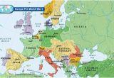 Map Of Post Ww1 Europe Europe Pre World War I World War World War One World War I