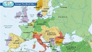 Map Of Post Ww1 Europe Europe Pre World War I World War World War One World War I