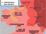 Map Of Pre Ww2 Europe East Europe before and after Of Ww2 Maps Map Historical