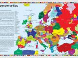 Map Of Present Day Europe Independence Day What Europe Would Look if Separatist
