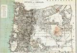 Map Of Prineville oregon Details About 1879 oregon Map or Hillsboro Madras north Bend Molalla