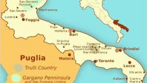 Map Of Puglia Italy Hak Van De Laars Puglia
