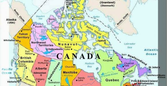 Map Of Quebec City Canada Plan Your Trip with these 20 Maps Of Canada