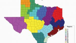 Map Of Regions Of Texas Texas Agriculture Regions This is A Great tool to Explore the