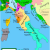 Map Of Renaissance Italy 1494 Italian War Of 1494 1498 Wikipedia