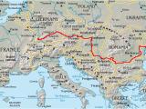 Map Of River Danube In Europe Danube Wikipedia