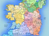 Map Of River Shannon Ireland Detailed Large Map Of Ireland Administrative Map Of
